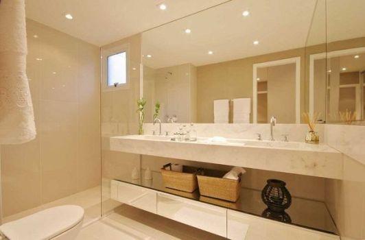 470794 Decoração em Banheiro Com Espelho Dicas e Fotos 9 Decoração em banheiro com espelho   dicas e fotos