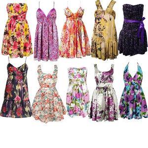 470813 Vestidos floridos curtos Fotos modelos.2 Vestidos Floridos Curtos   Fotos, modelos