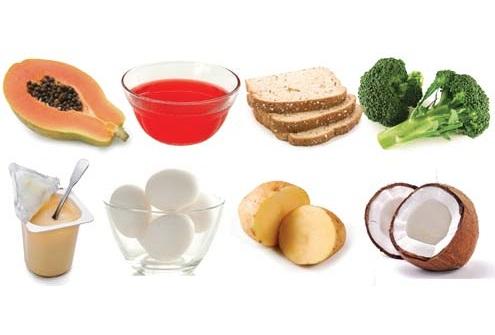 470951 O mamão a couve ovo batata agua de coco iogurte natural são excelentes para quem tem gastrite Alimentos para quem tem gastrite – dicas