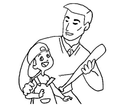 470956 Colorir desenhos de dia dos pais ajuda a criança a reconhecer o papel do pai Desenhos de Dia dos Pais para colorir