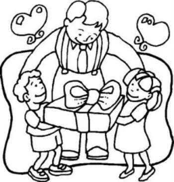 470956 Os desenhos para colorir são otimas opções de presentes para o dia dos pais Desenhos de Dia dos Pais para colorir