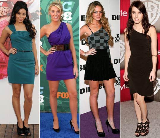 471079 Vestidos de um ombro s%C3%B3 modelos como usar Vestidos de um ombro só: modelos, como usar