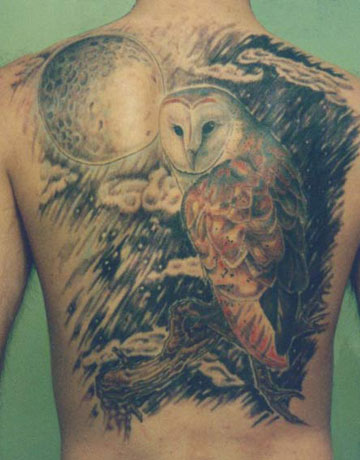 471257 Tatuagem de coruja 12 Tatuagem de coruja: fotos