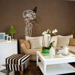 471515 Decoração de sala com parede marrom dicas fotos 1 150x150 Decoração de sala com parede marrom: dicas, fotos