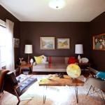 471515 Decoração de sala com parede marrom dicas fotos 150x150 Decoração de sala com parede marrom: dicas, fotos