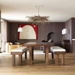 471515 Decoração de sala com parede marrom dicas fotos 5 150x150 Decoração de sala com parede marrom: dicas, fotos