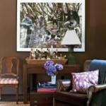 471515 Decoração de sala com parede marrom dicas fotos 7 150x150 Decoração de sala com parede marrom: dicas, fotos