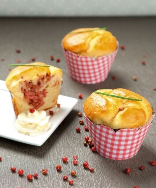 471989 Cupcakes salgados Receita de Cupcakes salgados