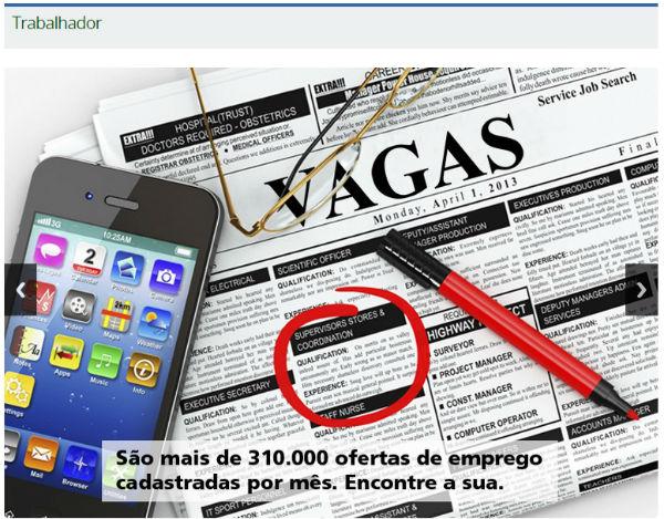 Mais Emprego cadastro, maisemprego.mte.gov.br