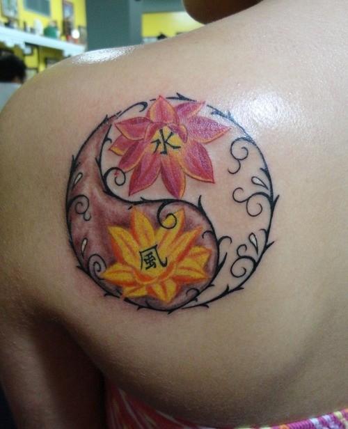 473610 Tatuagem de yin yang fotos 14 Tatuagem de yin yang: fotos