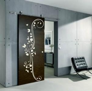 474514 Adesivos decorativos em portas dicas fotos 2 Adesivos decorativos em portas: dicas, fotos