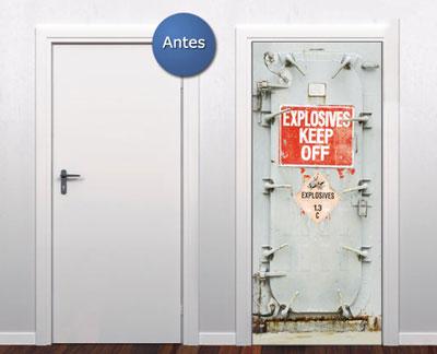 474514 Adesivos decorativos em portas dicas fotos 3 Adesivos decorativos em portas: dicas, fotos