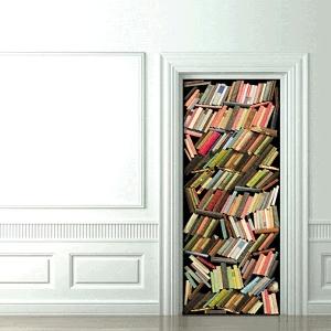 474514 Adesivos decorativos em portas dicas fotos 4 Adesivos decorativos em portas: dicas, fotos