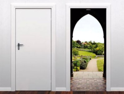 474514 Adesivos decorativos em portas dicas fotos 5 Adesivos decorativos em portas: dicas, fotos