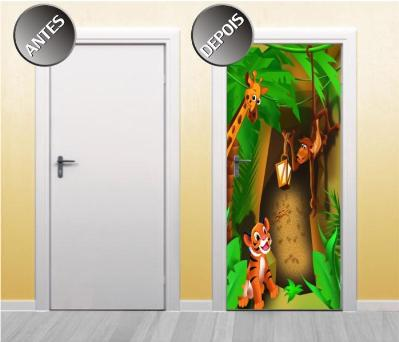 474514 Adesivos decorativos em portas dicas fotos 7 Adesivos decorativos em portas: dicas, fotos
