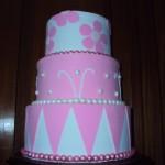 474674 Bolo rosa decorado fotos 13 150x150 Bolo rosa decorado: fotos