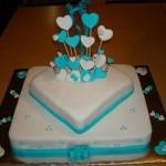 474758 Bolo azul decorado fotos 03 150x150 Bolo azul decorado: fotos
