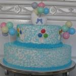 474758 Bolo azul decorado fotos 07 150x150 Bolo azul decorado: fotos