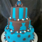 474758 Bolo azul decorado fotos 21 150x150 Bolo azul decorado: fotos