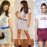 474846 A saias com t shirts caem muito bem e deixam o visual mais xique 150x150 T shirts: como usar, dicas, fotos