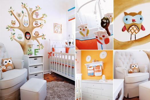 Decoracao De Quarto Infantil Selva ~ Quartos modernos para beb?s dicas fotos 88 Quartos modernos para