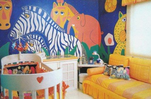 quarto bebe tema jardim:476173 Quartos modernos para bebês dicas fotos 150×150 Quartos