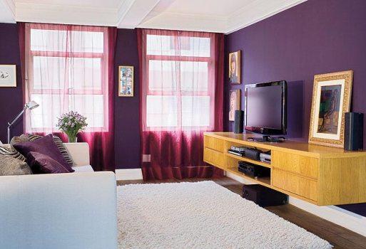 476246 Decoração com a cor violeta dicas fotos 4 Decoração com a cor violeta: dicas, fotos
