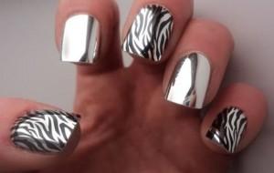 Unhas de Zebra: fotos, passo a passo