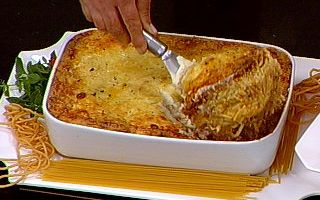 477867 lasanha Lasanha de espaguete