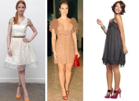 478527 Os vestidos e sandálias devem ser escolhidos com cuidado pois exigem sofisticação e elegancia Cópia Vestido e sandália de festa: como combinar, dicas