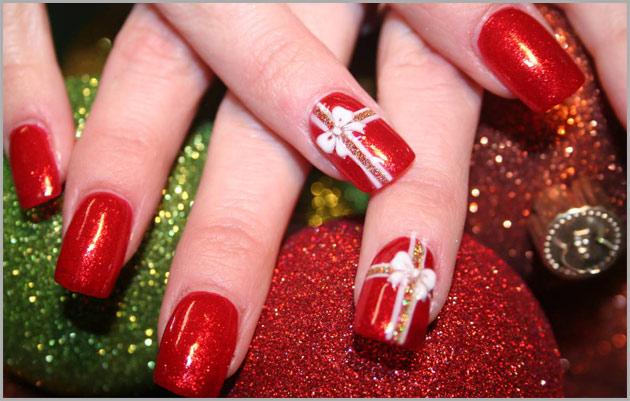 478905 Unhas decoradas para o natal passo a passo2 Unhas decoradas para o Natal, passo a passo