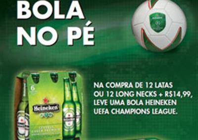 479095 Promoção Heineken bola comemorativa da UEFA Promoção Heineken bola comemorativa da UEFA