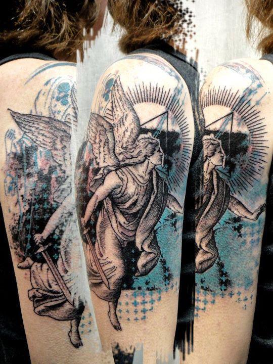 479613 Tatuagem de anjo fotos 18 Tatuagem de anjo: fotos