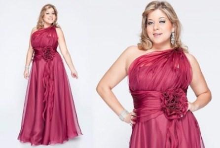 479653 A moda plus size é a mais indicada para as madrinhas que estão acima do peso Vestidos Para Madrinhas Plus Size 2012 – Modelos