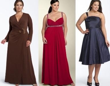 479653 As madrinhas são as que mais se destacam depois dos noivos e por isso devem caprichar no visual Vestidos Para Madrinhas Plus Size 2012 – Modelos