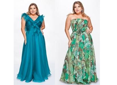 479653 Os vestidos longos plus size são ótimas opções para madrinhas Vestidos Para Madrinhas Plus Size 2012 – Modelos