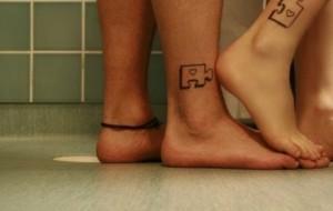Sugestões de tatuagens para casais