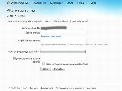 480552 senha do msn como trocar 2 Senha do MSN, como trocar