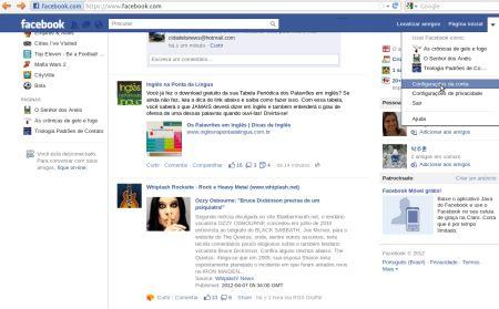 480875 senha do facebook como trocar 1 Senha do Facebook, como trocar