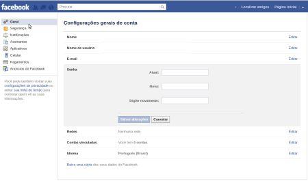480875 senha do facebook como trocar 2 Senha do Facebook, como trocar
