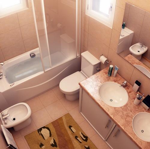 480966 Banheiro pequeno como organizar Banheiro pequeno, como organizar