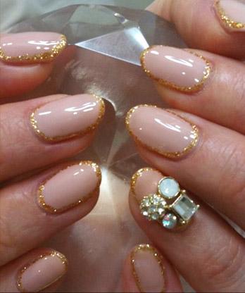 481228 Unhas border nails como fazer4 Unhas border nails: como fazer