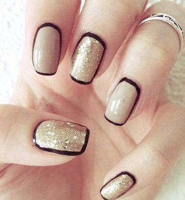 481228 Unhas border nails como fazer5 Unhas border nails: como fazer