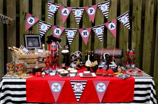 481564 Decoração de festa infantil tema pirata 11 Decoração de festa infantil, tema Pirata