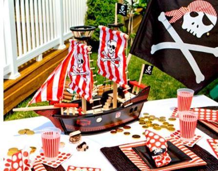 481564 Decoração de festa infantil tema pirata 4 Decoração de festa infantil, tema Pirata