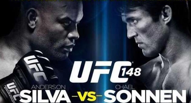 481999 1 Anderson Silva vence Chael Sonnen e mantém cinturão no UFC 148