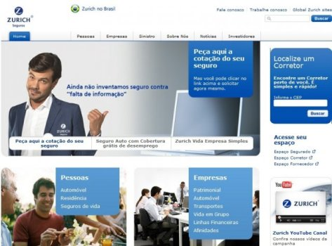 482305 zurich seguros www.zurich.com .br 1 Zurich seguros, www.zurich.com.br
