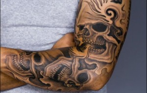 Tatuagens grandes: fotos