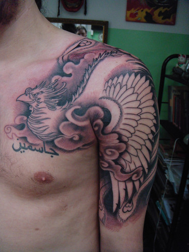 482651 Tatuagem no ombro fotos 012 Tatuagem no ombro: fotos