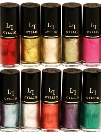 482775 CYLLIO 1 Coleção de esmaltes Cyllio: 80 opções de cores